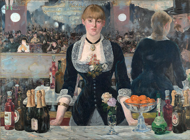 Edouard Manet, A Bar At The Folies-Bergère (1882)