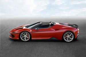 Ferrari J50 je osnovan na modelu 488 Spider.
