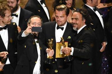 Leonardo DiCaprio je končno osvojil oskarja.