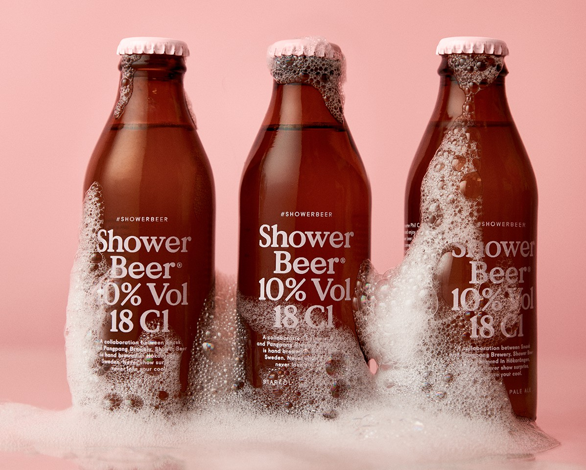 Pivo Shower Beer