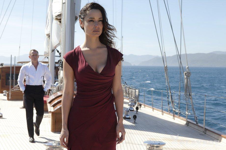 Luksuzna jahta Regina v filmu Skyfall