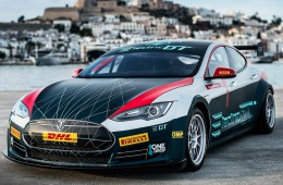 Tesla Model S Race Car