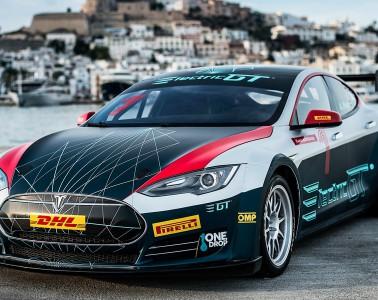 Tesla Model S Race Car