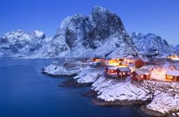 Najlepše evropske vasice: Reine, Norveška