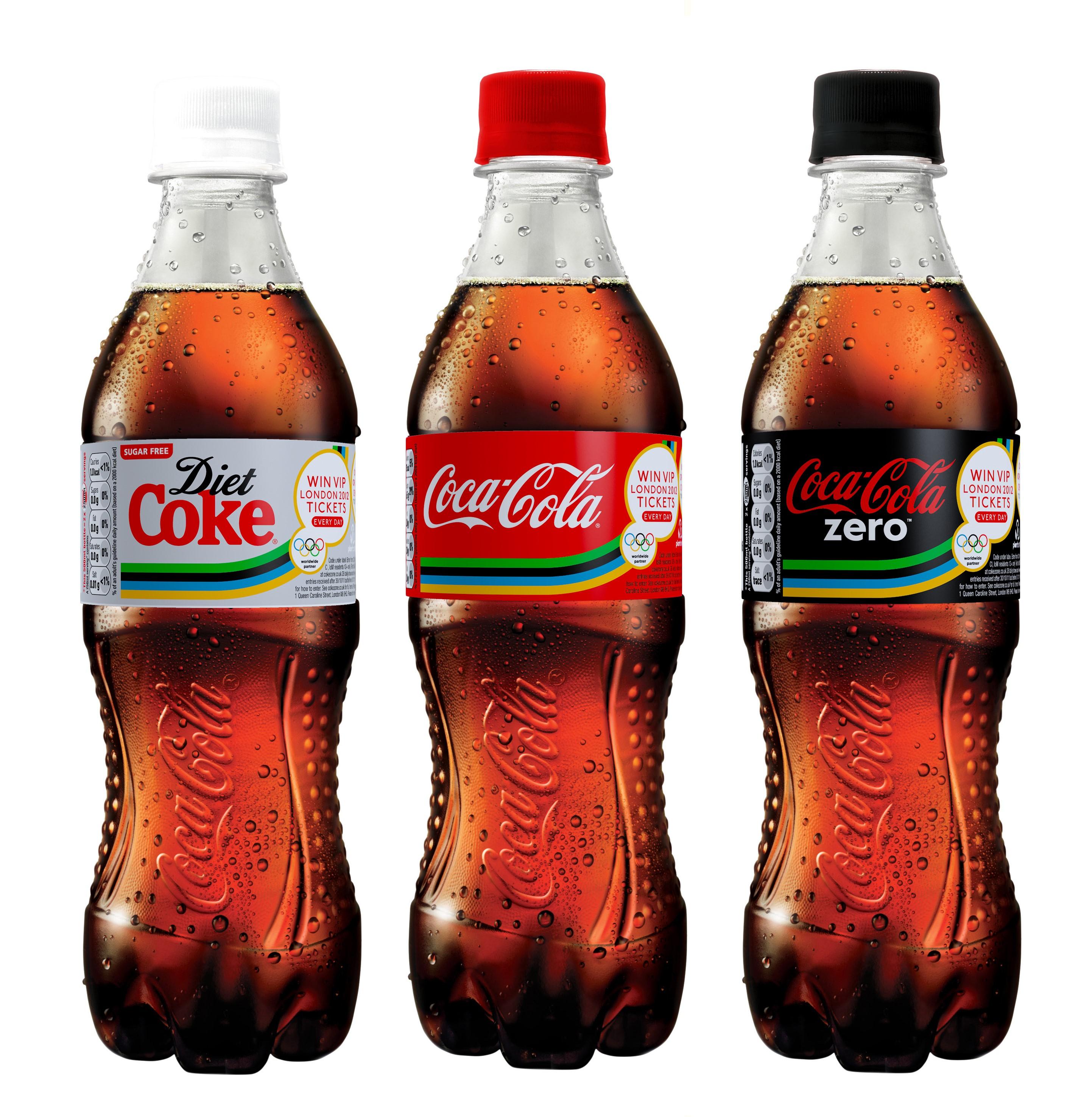 Zdravi alternativi, Coke Zero in Diet Coke.