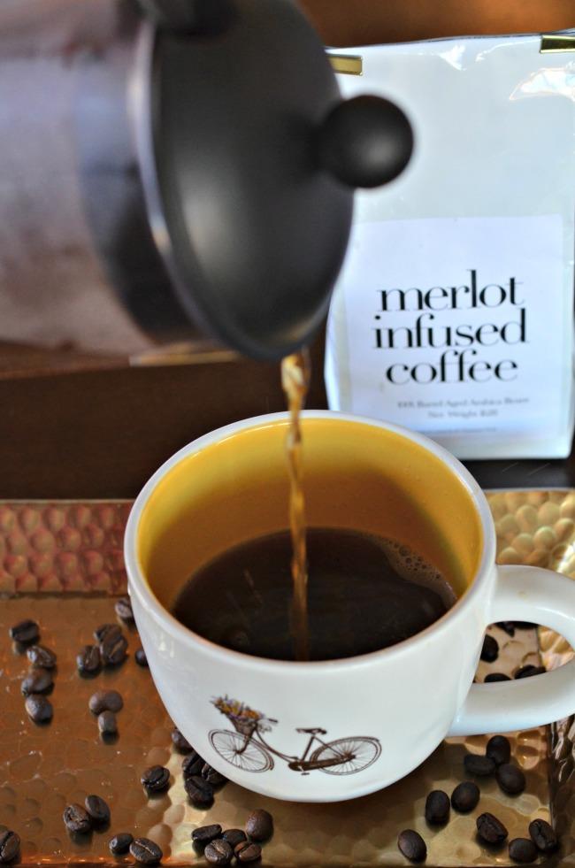 Kava, ki diši po vinu.