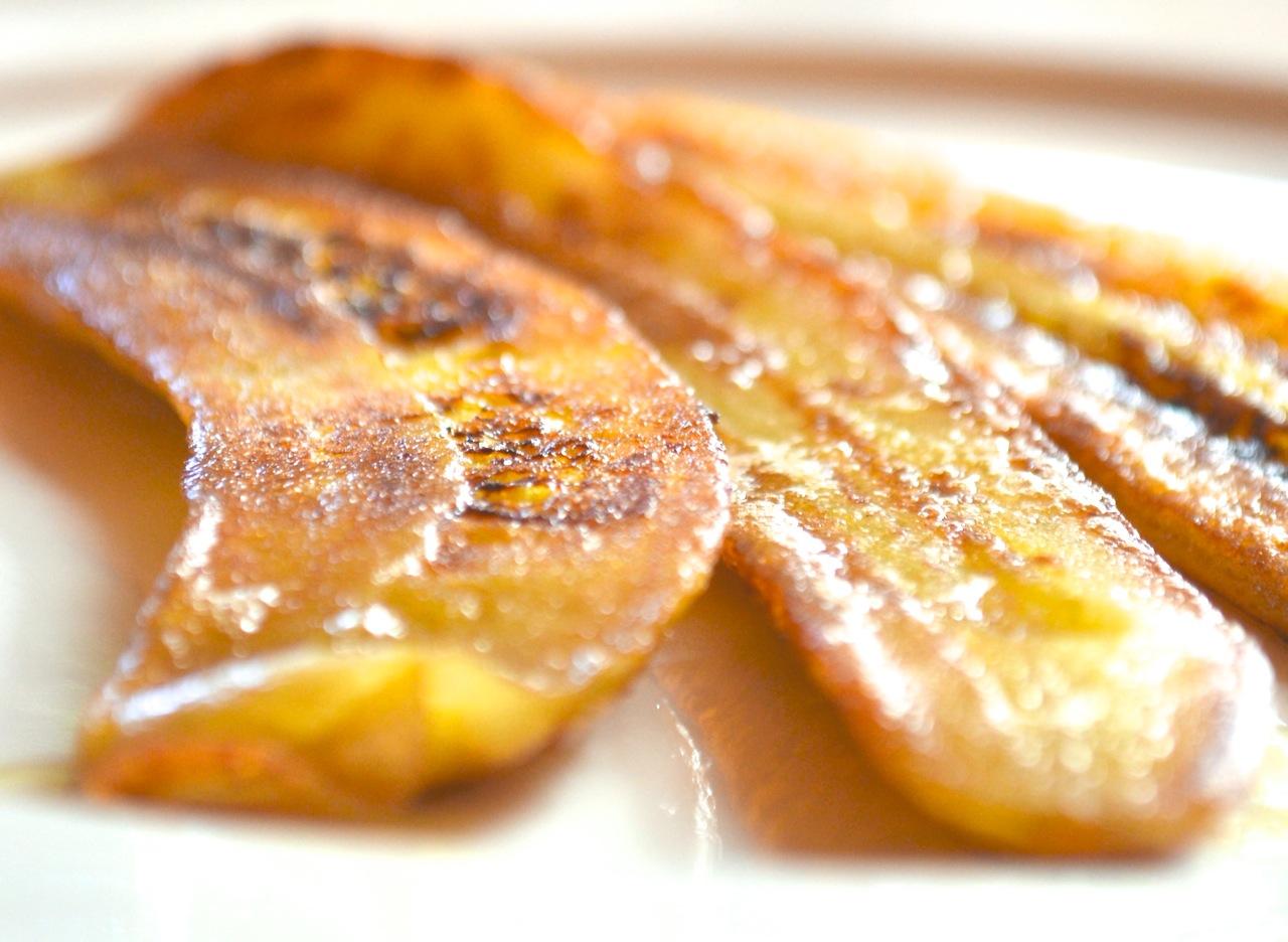 Recept - pečene banane