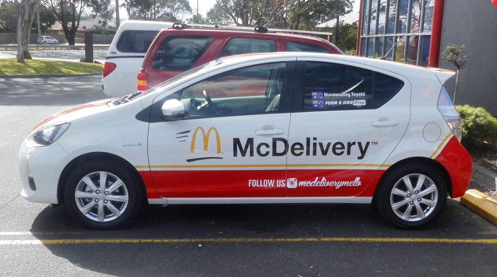 McDelivery je že prisoten na azijskem trgu.