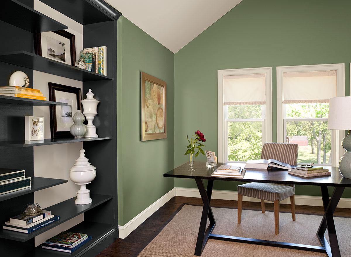 Zelena spodbuja miselne procese