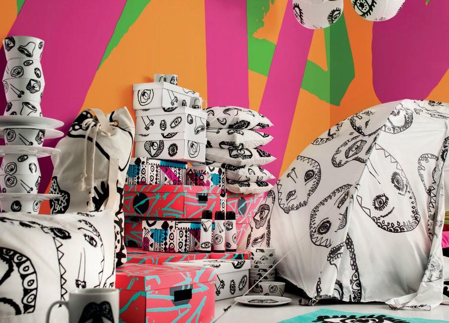 Ikea Spridd: kolekcija, ki je svojo muzo našla na glasbenih festivalih