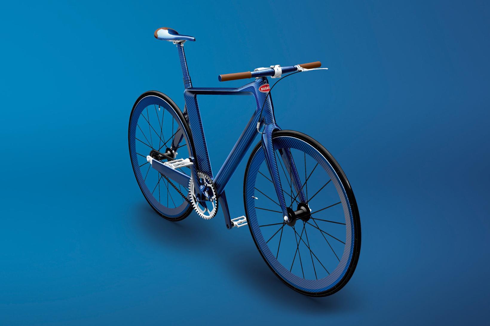 PG Bugatti Bike: Bugattijevo kolo tehta manj kot 5 kilogramov
