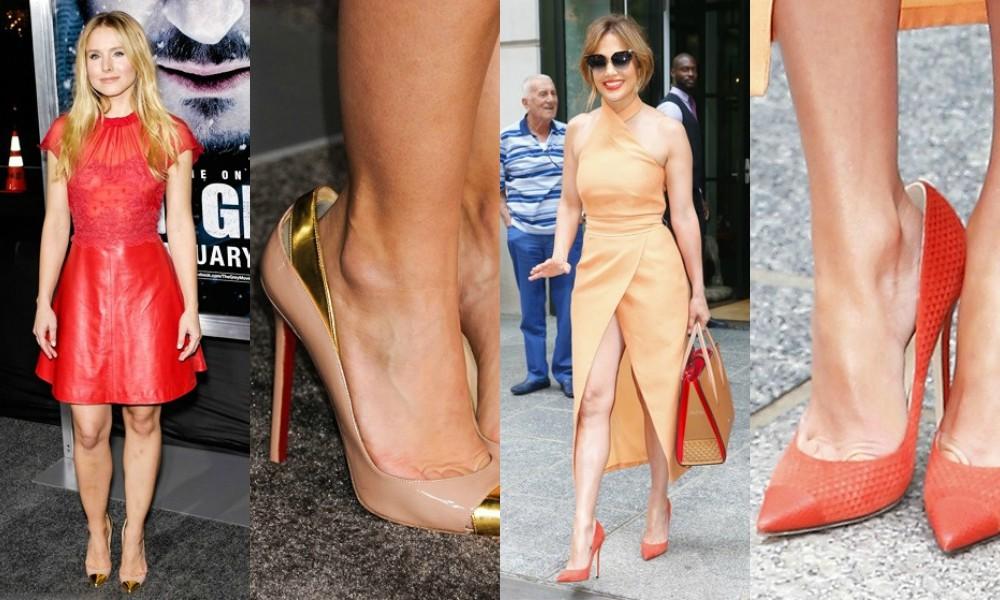 Zakaj bi morale nositi prevelike čevlje s peto?