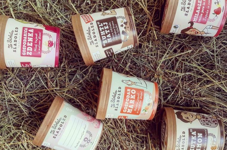 TaStrletov sladoled: slasten domač sladoled s Strletove kmetije