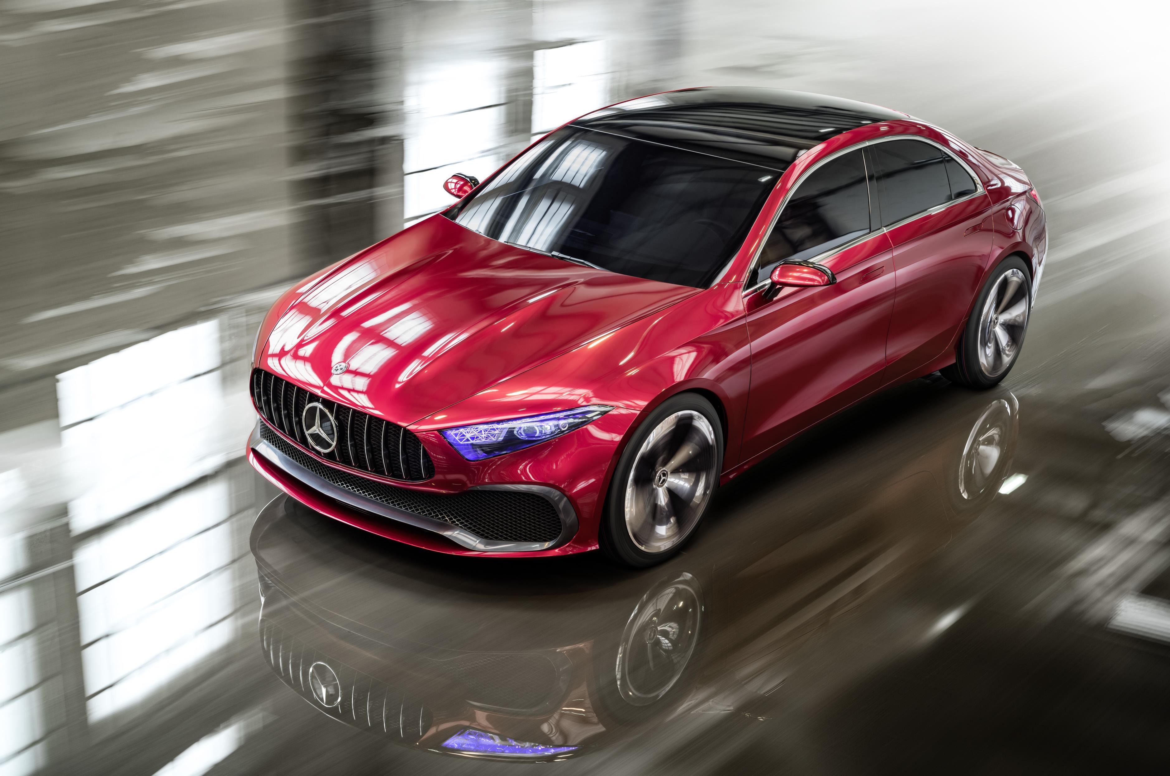 Koncept limuzine Mercedes-Benz razreda A