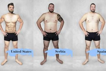 Kakšno je idealno moško telo po svetu?