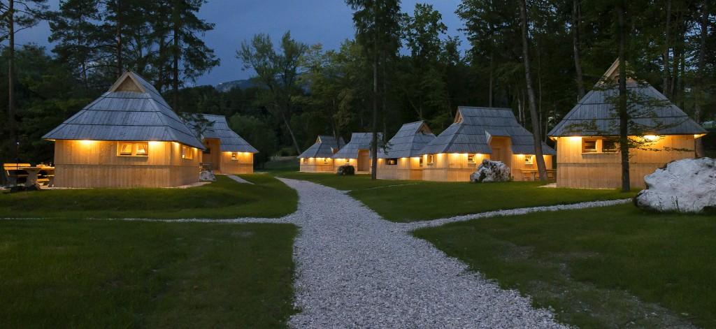 Glamping naselje Eko resort pod Veliko planino