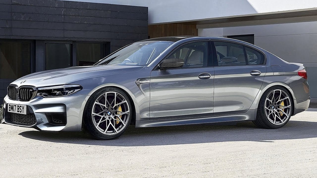 BMW M5 - 2018 / uradno ga bodo pokazali na avtosalonu v Frankfurtu.