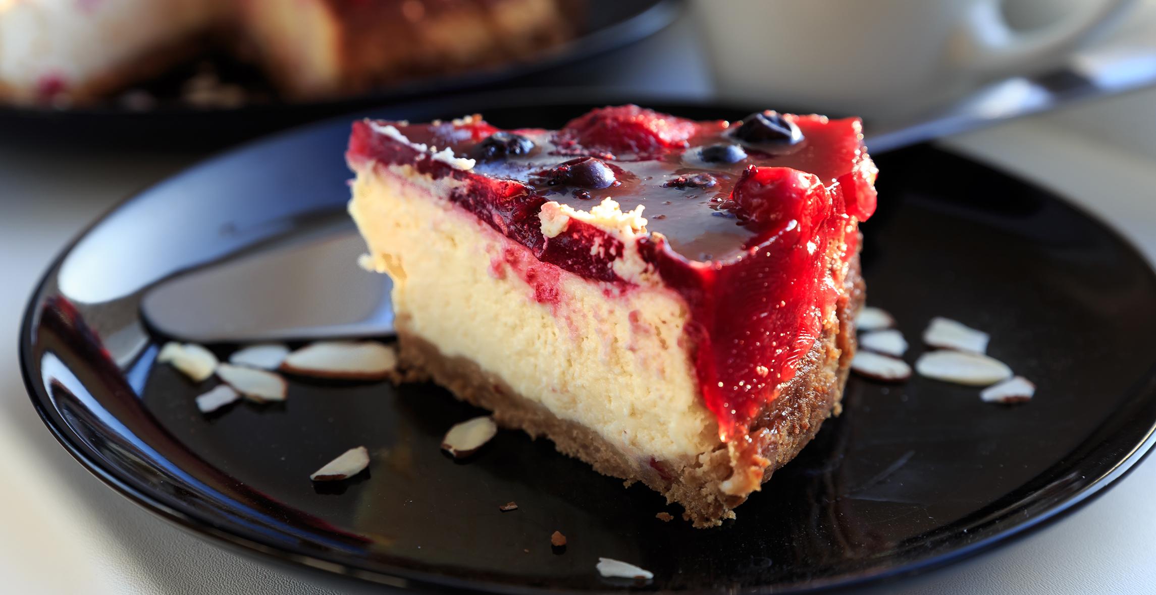 Recept: lahek cheesecake, pripravljen v pol ure