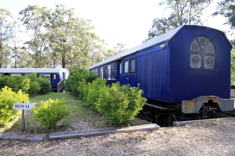 TRAIN CARRIAGE, POKOLBIN (Avstralija)