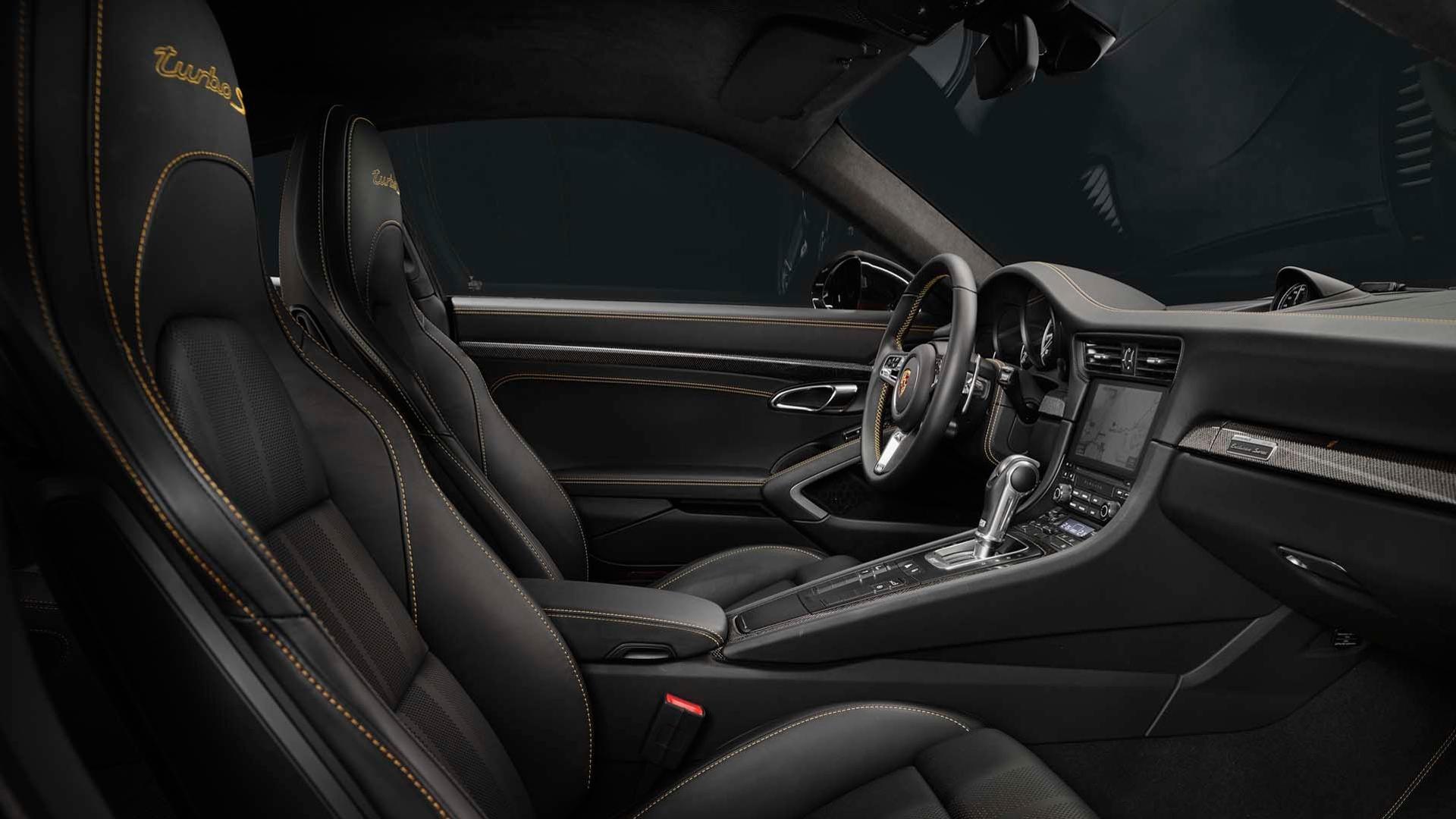 Notranjost - Porsche 911 Turbo S