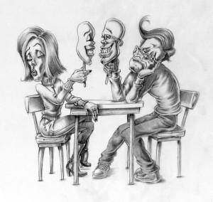 Provokativne ilustracije, ki kažejo, kaj je narobe z družbo.