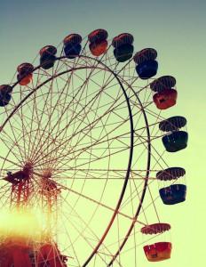 Pojdita po dozo adrenalina v zabaviščni park.