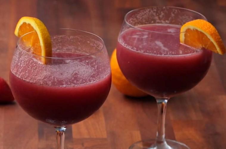 Recept: Frangria, 'zamrznjena' sangrija
