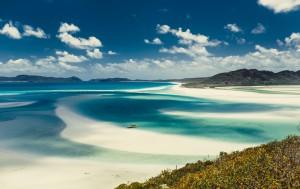 Plaža Whitehaven, Avstralija