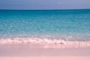 Roza plaža, Bahami