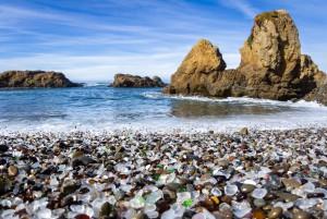 Steklena plaža, Kalifornija, ZDA