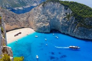 Plaža Navagio, Grčija