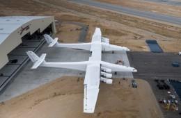 Največje letalo, ki bo letelo v vesolje.