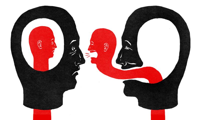 Če že ne govorijo veliko, najbrž potem več časa poslušajo.