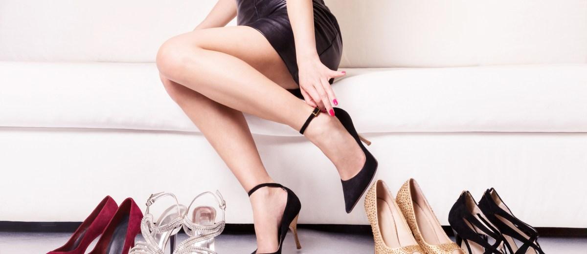 Petke so udobne, če je razdalja med stopalom in petko velika