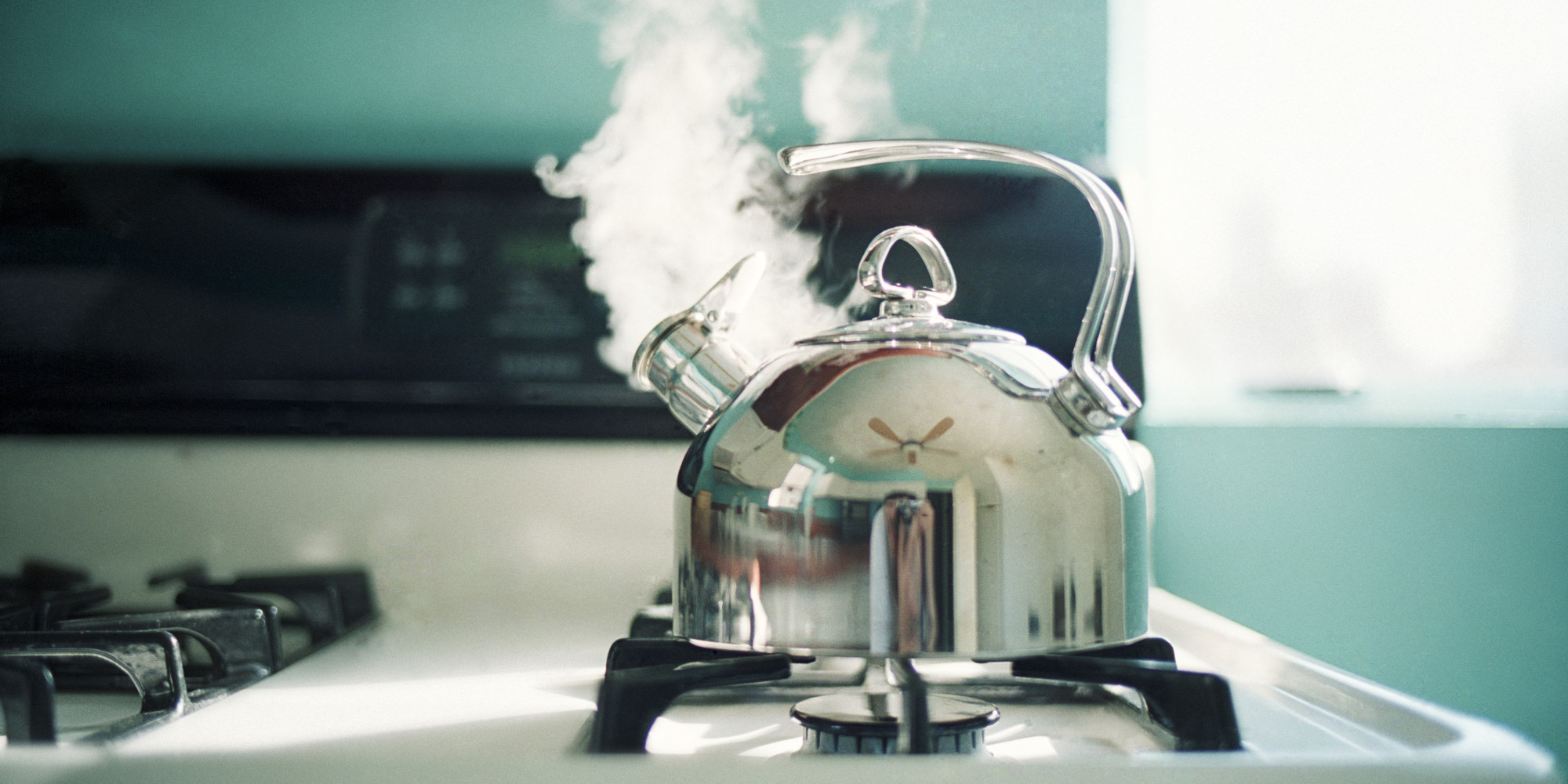 Izkoristite paro čaja.