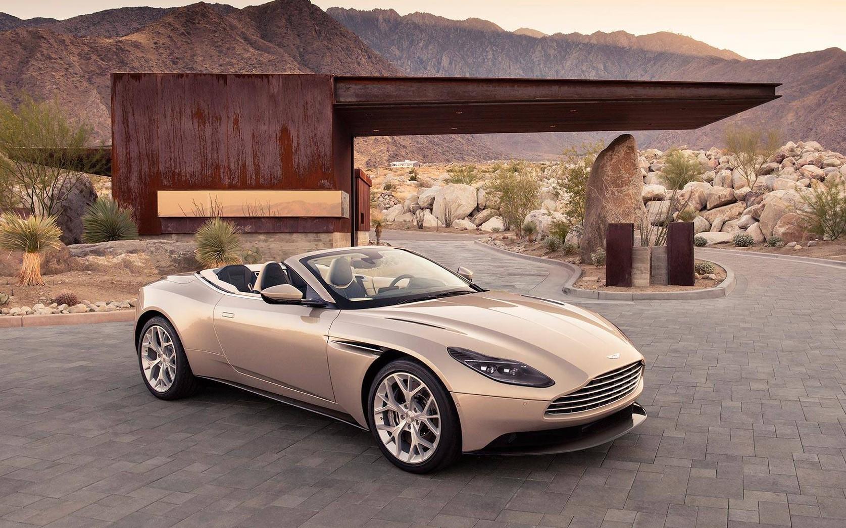 Aston Martin BD11 Volante