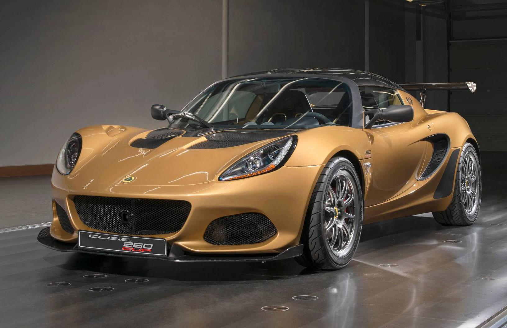 Lotus Elise Cup 260: najbolj tekmovalni Elise
