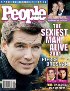 2001, Pierce Brosnan