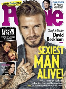 2015, David Beckham