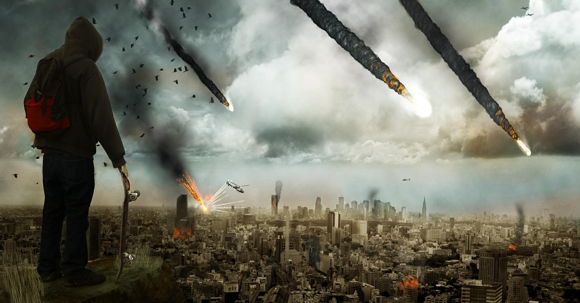 Kaj bo pokončalo človeštvo, virusi ali kometi?