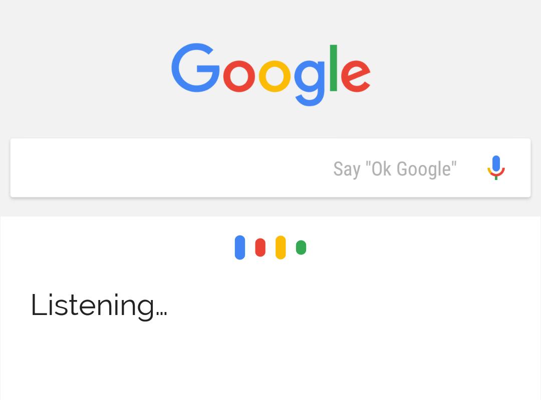 Google vas posluša.