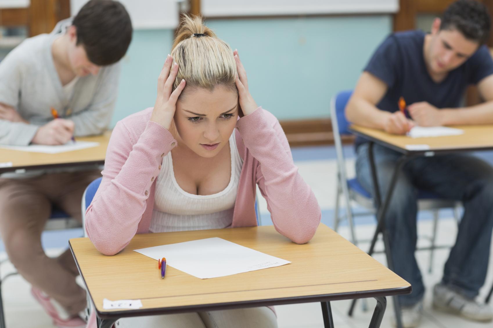 Na test pridete nepripravljeni.
