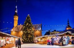 10 najboljših alternativnih mest za novoletni oddih 2017: Talin, Estonija