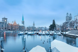10 najboljših alternativnih mest za novoletni oddih 2017: Zürich, Švica