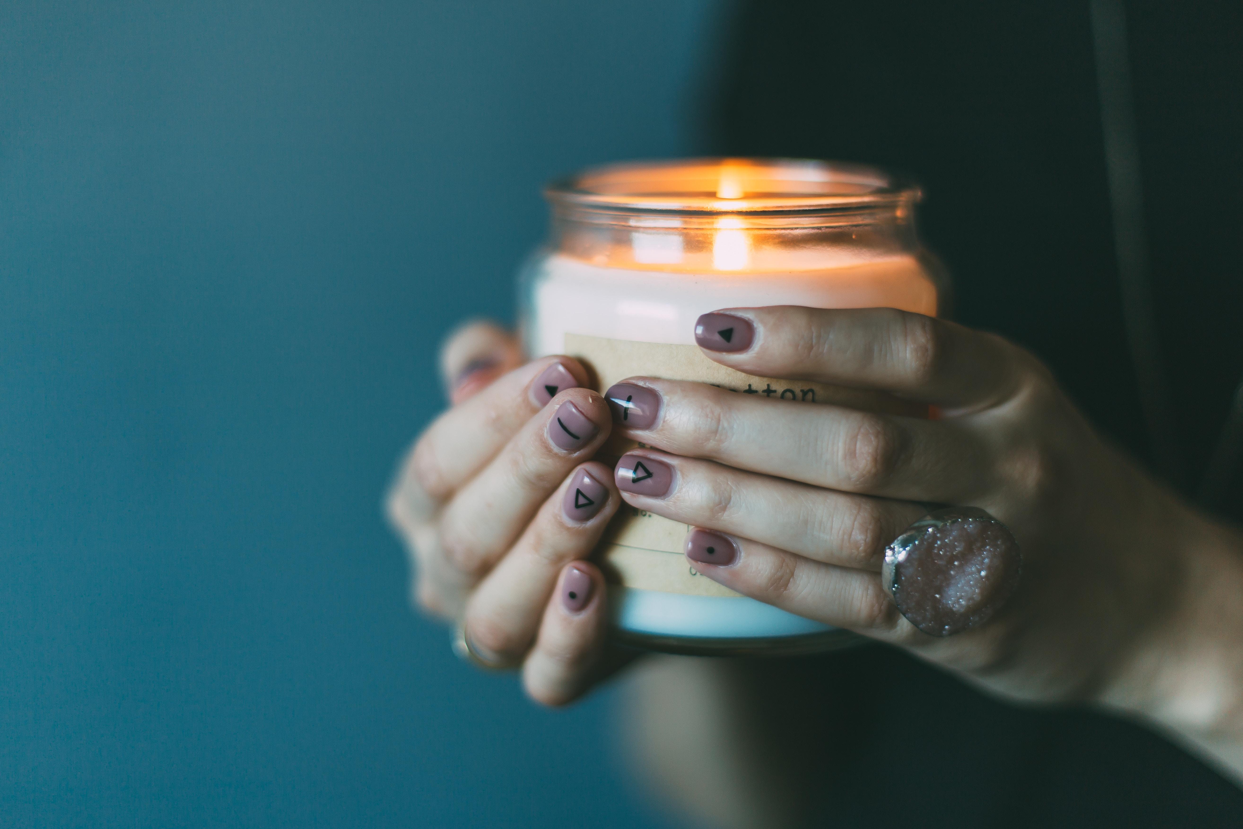 Izberite naravne sveče.