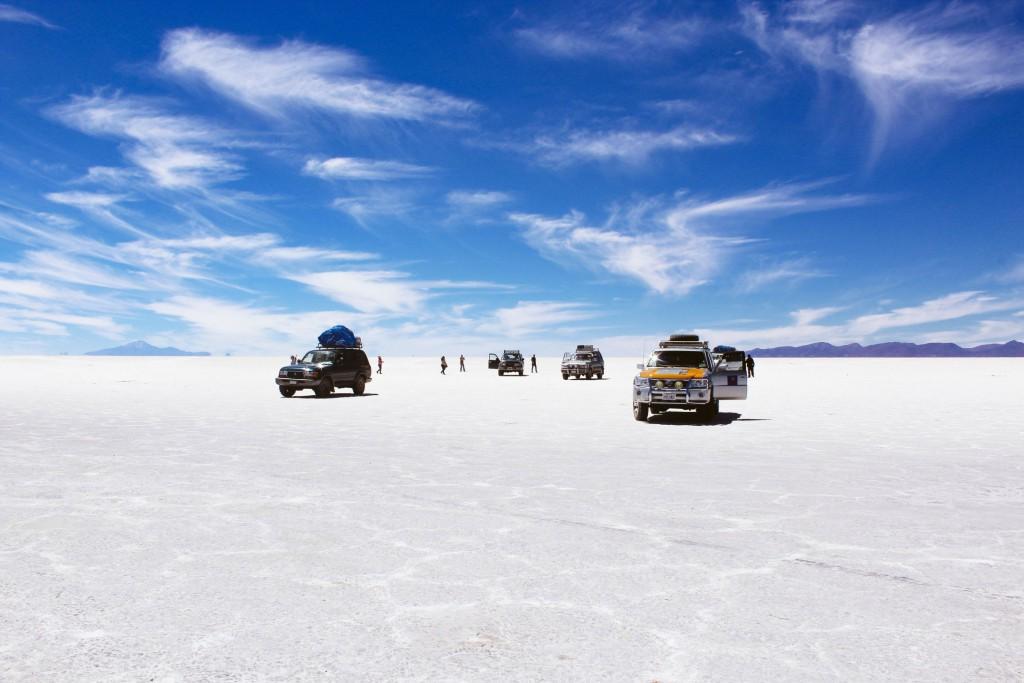 Salar de Uyuni, Bolivija