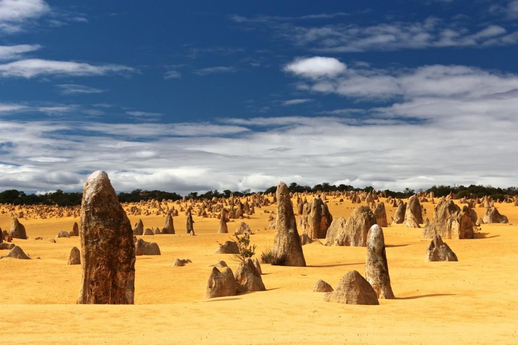 Puščava Pinnacles, zahodna Avstralija