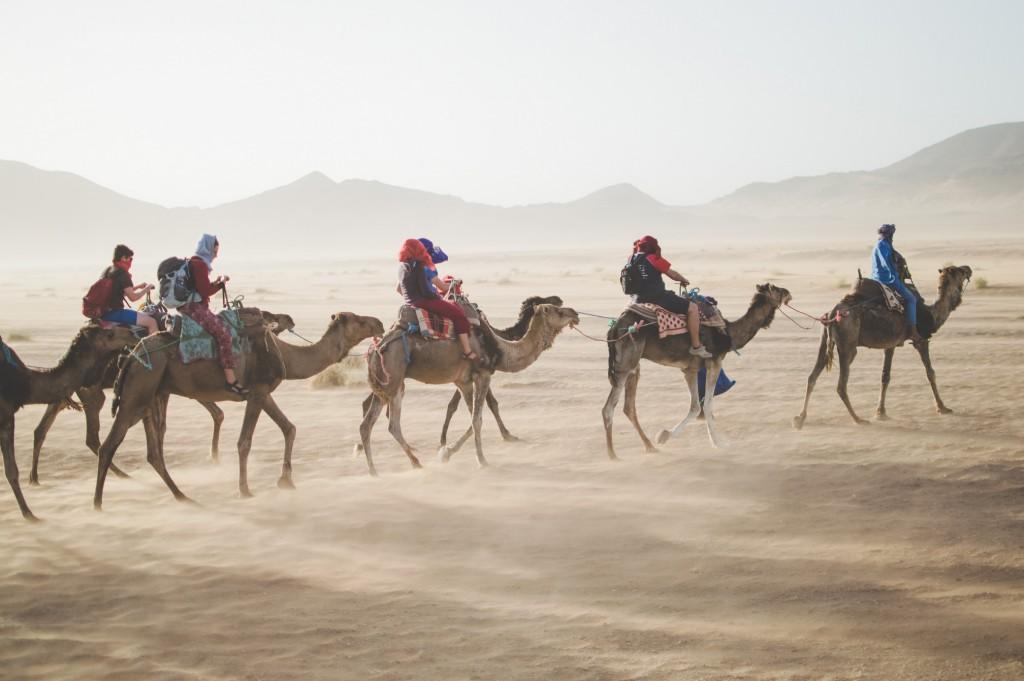 Puščava Sahara, Maroko