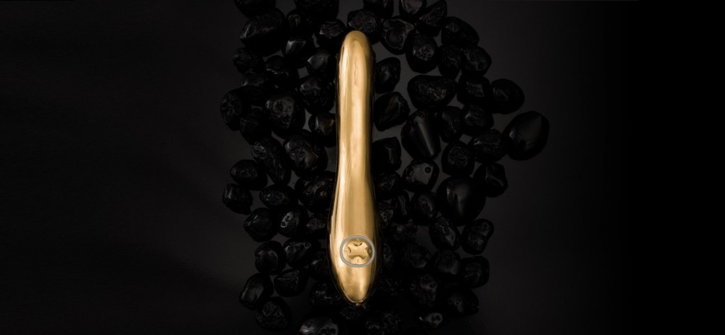 Zlati vibrator Lelo