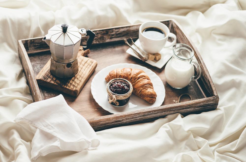 Zajtrk v postelji